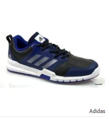 Adidas Essential Star 3 M Sneakers - Royal Blue & Black