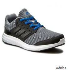 Adidas Galaxy 3.1 M Running Shoes - Grey & Black