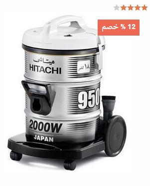 هيتاشي مكنسة كهربائية اسطوانية 2000 واط - CV950، رمادي