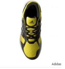 Adidas Duramo 8 M Running Shoes - Yellow & Drak Grey