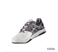 Adidas Duramo 8 Trainer M Shoes - Grey & White