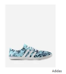 Adidas Cloud Foam Sneakers - Light Blue