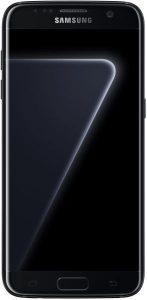 هاتف سامسونج جالاكسي اس 7 ايدج ثنائي شريحة الاتصال - 128 جيجا، رام 4 جيجا، الجيل الرابع ال تي اي، اسود