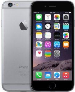 ابل ايفون 6 بدون فيس تايم- 32 جيجا، الجيل الرابع ال تي اي، رمادي