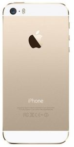 ابل ايفون 5S مع فيس تايم - سعة 16 جيجا، الجيل الرابع ال تي اي، ذهبي