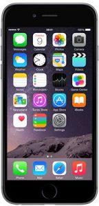 ابل ايفون 6 مع فيس تايم - 16 جيجا، الجيل الرابع ال تي اي، رمادي