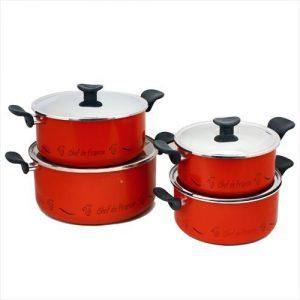طقم طناجر طهي تيفال