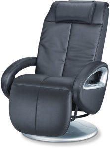 جهاز تدليك شياتسو على شكل كرسي متعدد الاستخدام من بيورير - MC 3800، اسود