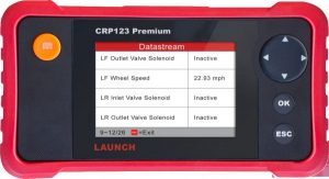LAUNCH CRP123 Premium Automobile Diagnostic Tool - OBD II, engine, Transmission, ABS and Airbag ‫(SRS) systems & more