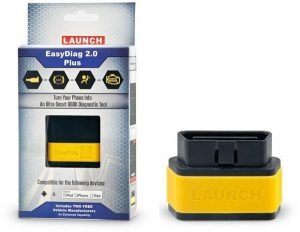 OBD2 4 System Auto Diagnostic Tools launch X431 Easydiag Bluetooth OBDII Work With Android/Ios