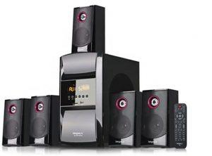 امبيكس بلو روك جهاز صوتي منزلي 5.1 قنوات مع ريموت ، HT-5105