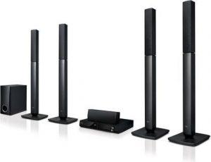 ال جي جهاز مسرح منزلي 5 قناة مع مشغل دي في دي - LHD 457