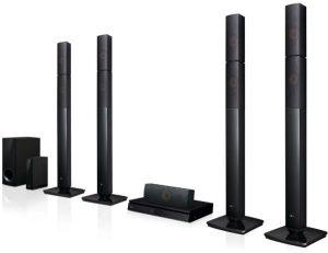 ال جي جهاز مسرح منزلي 5.1 Channels قناة مع مشغل بلوراي - LHB655NW