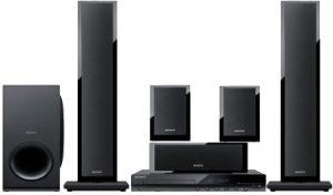 سوني جهاز مسرح منزلي 5.1 قناة مع مشغل ومسجل دي في دي