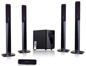 يوروستار - جهاز المسرح المنزلي 5.1 قناة موديل (EHT8000TBT-F14)