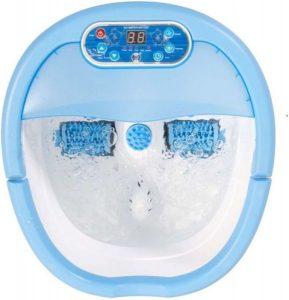 جهاز مساج للأقدام مع التسخين وتدفق الماء