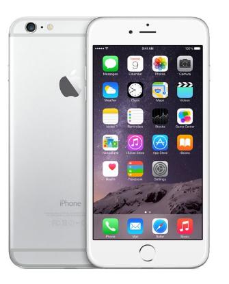 ابل ايفون 6 مع فيس تايم – 64 جيجا، الجيل الرابع ال تي اي ، فضي