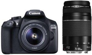 كاميرا كانون1300D EOS بدقة تصل إلى 18 ميجابيكسل