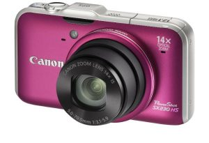كاميرا كانون تصل دقة عدستها 12ميجابيكسل