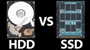 الفرق بين انواع التخزين المختلفة HDD Vs SSD