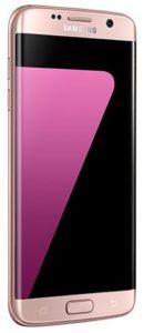 هاتف سامسونج جالاكسي اس 7 ايدج ثنائي شريحة الاتصال - 32 جيجا، رام 4 جيجا، الجيل الرابع ال تي اي، اللون ذهبي وردي