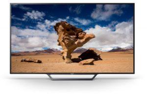 تلفزيون سوني 40 انش فل اتش دي الذكي، اسود - 40W650D