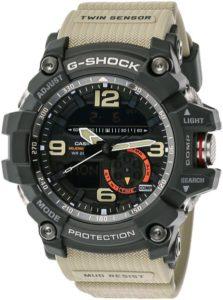 Casio G-Shock Mudmaster Men's Black Ana-Digi Dial Resin Band Watch - GG-1000-1A5