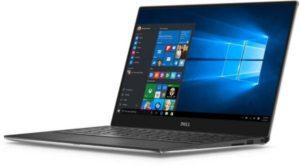 لاب توب ديل XPS 13 - انتل كور i7-7500U، شاشة لمس 13.3 انش كيو اتش دي، 512 جيجا اس اس دي، 16 جيجا، لوحة مفاتيح انجليزي وعربي ، ويندوز 10، فضي