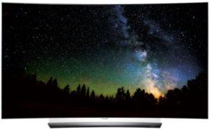 ال جي 65 انش او ال اي دي تلفزيون ذكي ثلاثي الابعاد اسود - OLED65C6V