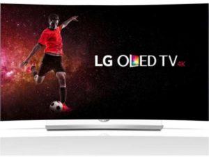 ال جي 55 انش منحني تلفزيون ذكي اسود - LG 55EG910T