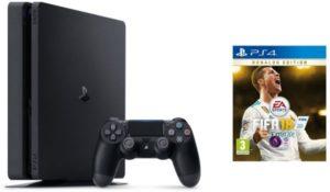 Sony Playstation 4 1TB Slim with Fifa 18 Ronaldo Edition