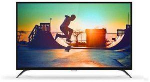 فيليبس 50 انش ليد تلفزيون ذكي اسود - 50PUT6002