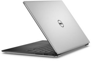 Dell XPS 13 Laptop - Intel Core i7-8550U, 13.3-Inch QHD Touch, 1TB, 16GB, Eng-Arb-KB, Windows 10, Silver