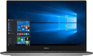 Dell XPS 13 Laptop - Intel Core i7-8550U, 13.3-Inch QHD Touch, 512GB, 16GB, Eng-Arb-KB, Windows 10, Silver