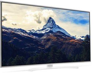 ال جي 65 انش ال اي دي تلفزيون ذكي فضي - 65UH664V