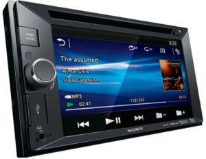 """جهاز سوني، شاشة تحكم لمس 6.2""""""""15.7 سم، دبليوه في جي ايه، XAV-65"""