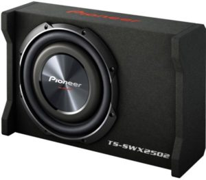 Pioneer TSSWX2502 10 Inch Shallow Mount Pre-Loaded Enclosure Sub Woofer