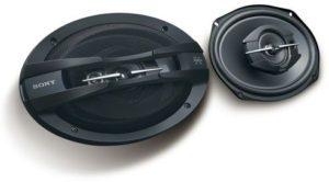سماعات للسيارة 3 اتجاهات، مخروطية مزدوجة من سوني - XS-GTF6938