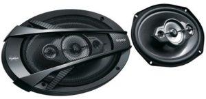 سماعات للسيارة 5 اتجاهات بتصميم بيضاوي من سوني - XS-N6940