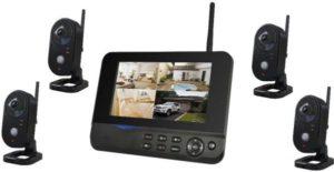 4CH الرقمية كاميرا لاسلكية نظام الأمن