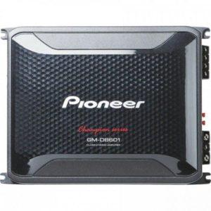 مضخم صوت للسيارة من الدرجة دي 5 - قنوات مع جهاز سلكي للتحكم عن بعد بزيادة جهارة الصوت من بيونير - GM-D9605