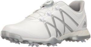 حذاء نسائي من أديداس، مقاس 8 أوس، أبيض، 8 M