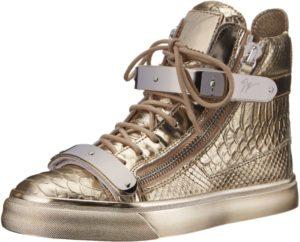 حذاء نسائي من جوسيبي زانوتي من جولي بلاتينو، مقاس 11 م أمريكي