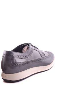 أحذية هوجان للرجال من ماكبي148180o من الجلد الرمادي