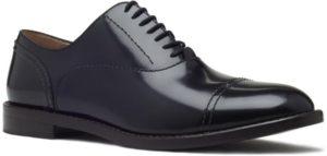 مارك جاكوبس M9000855001 حذاء جلد أسود من الدانتيل