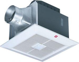 شفاط هواء من شركة كيه دي كيه ، لون ابيض - موديل 24JRA