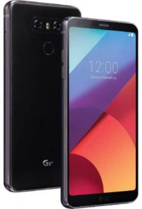 ال جي G6 بلس بشريحتي اتصال - 128 جيجا، 4 جيجا رام، الجيل الرابع ال تي اي، اللون اسود