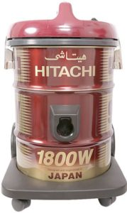 Hitachi 1800 Watts Can Type Y Series Vacuum Cleaner, Red CV945Y24CBSWR