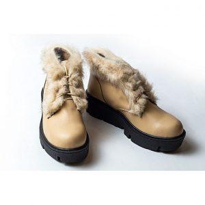 Jolly حذاء للنساء هاف بوت - بيج