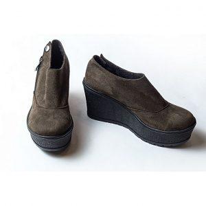 Jolly أحذية للنساء قصيرة - زيتي